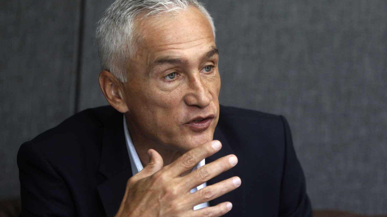 El periodista de Univisión Jorge Ramos.