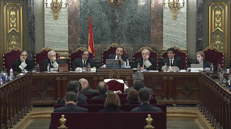 Manuel Marchena, en la Sala del Tribunal Supemo.