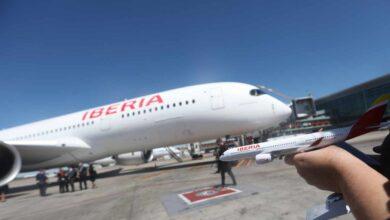 Iberia abre un corredor aéreo permanente con China para traer material sanitario