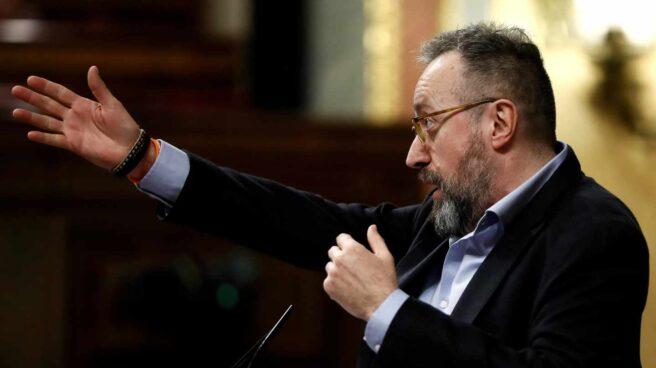 Juan Carlos Girauta, en el Congreso.