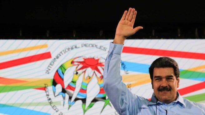 Nicolás Maduro, en la Asamblea de los Pueblos.