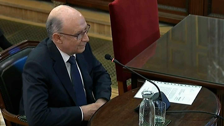 Cristóbal Montoro, en el Tribunal Supremo.