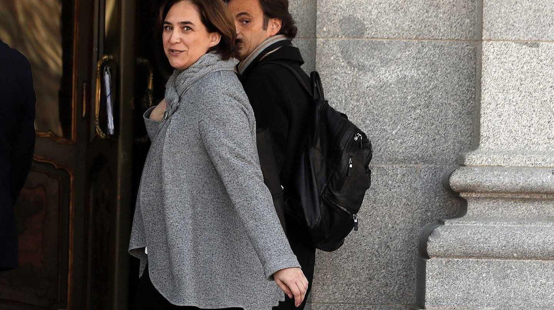 Juicio al procés: Ada Colau entra en el Supremo.