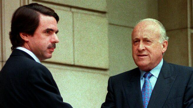 Aznar y Arzalluz, en 1998.