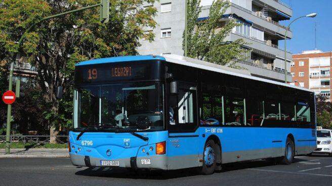 Autobús de la línea 19 dirección Legazpi