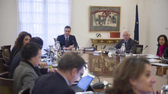 El Consejo de Ministros, en una de las reuniones de la pasada legislatura.