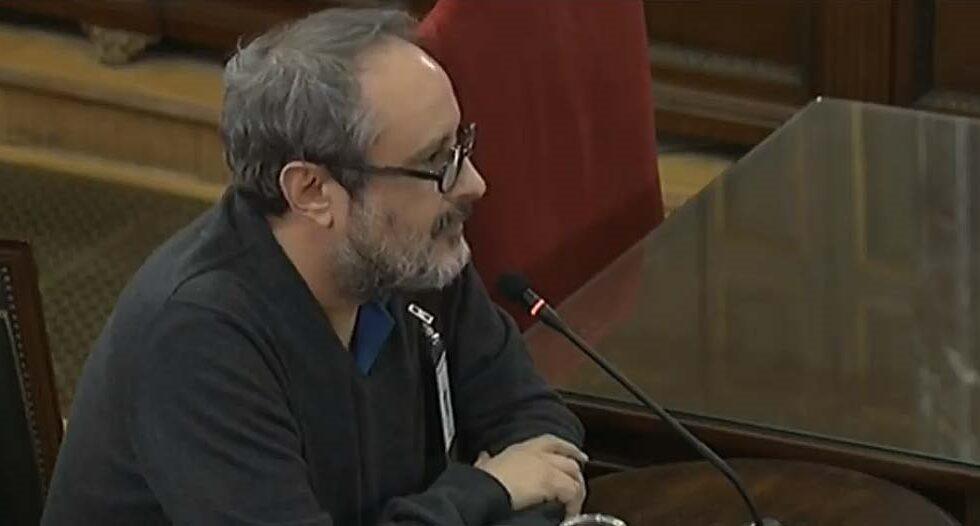 Antonio Baños, en el Supremo.