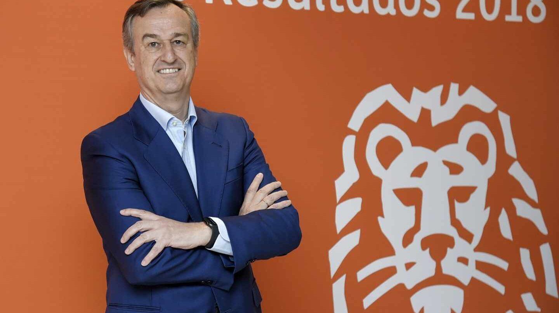 César García-Bueno, consejero delegado de ING en España y Portugal.