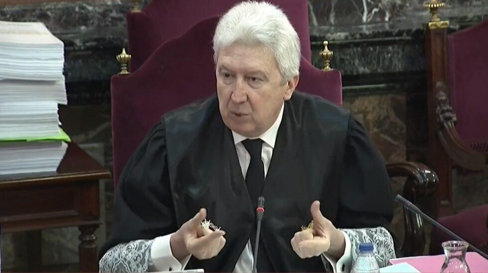Juicio al procés: el fiscal Fidel Cadena, en el Supremo.