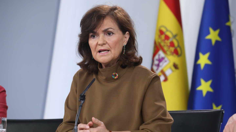 Resultado de imagen de Calvo: Los independentistas no aceptan el marco de diálogo del Gobierno