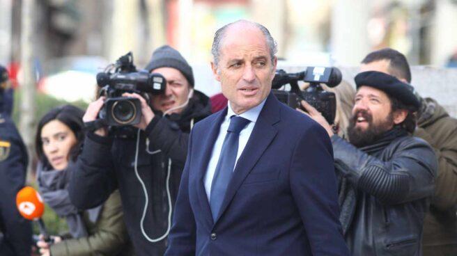 Francisco Camps llega a la Audiencia Nacional.
