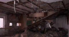 Derrumbe de un piso en Valencia.