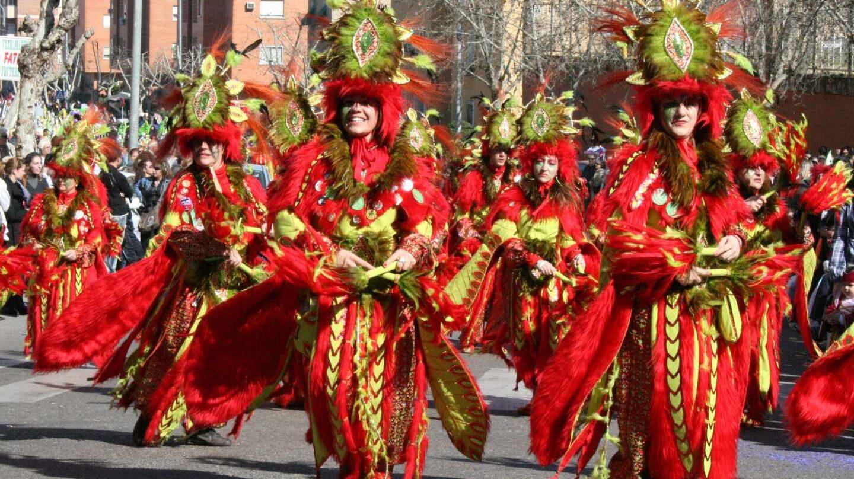 Desfile de comparsas de Badajoz