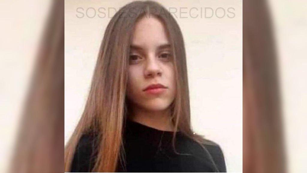Dalila Pinto, la menor de 13 años desaparecida.