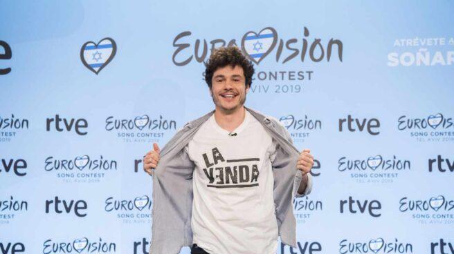 El representante español para Eurovisión 2019, Miki Núñez.