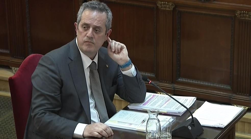 Juicio al procés: Joaquim Forn, en el Supremo.