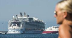 Imagen de un crucero atracado en el puerto de Palma