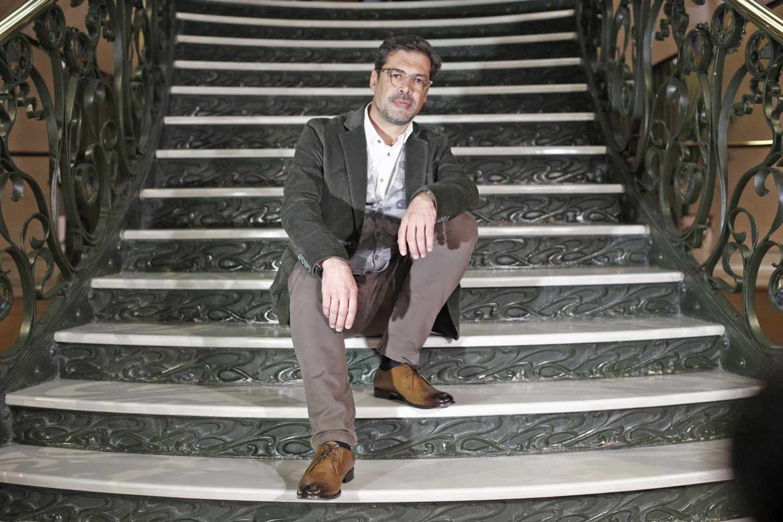El músico José Ángel Hevia, presidente de la SGAE.