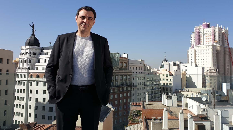 Juan Carlos Bermejo, afiliado de Ciudadanos y precandidato a la Comunidad de Madrid.