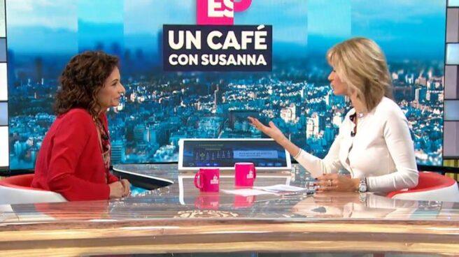 María Jesús Montero, en 'Espejo Público'.