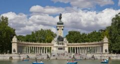 Monumento a Alfonso XII en los Jardines del Retiro.