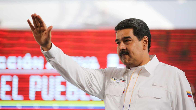 El líder chavista, Nicolás Maduro, en una de sus comparecencias.