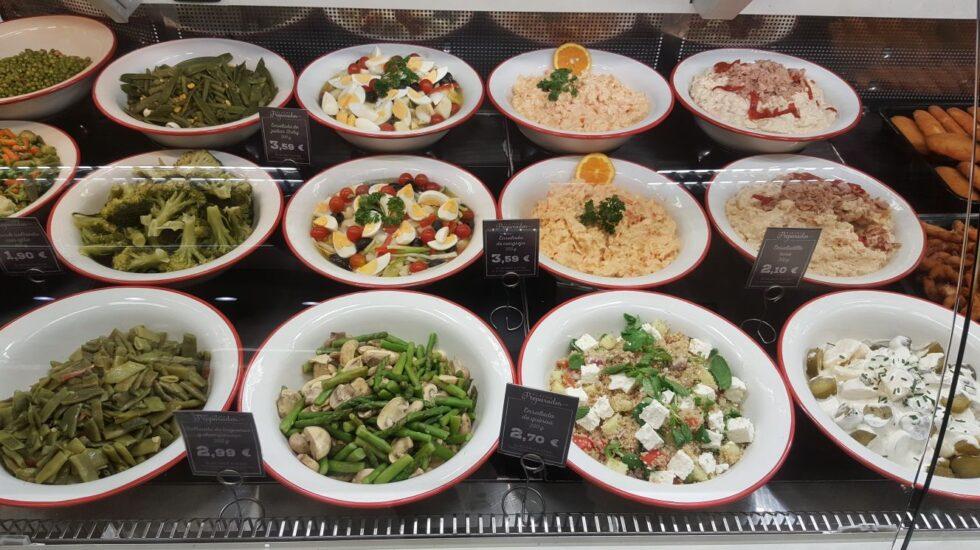 Platos preparados de la nueva oferta gastronómica de El Corte Inglés.