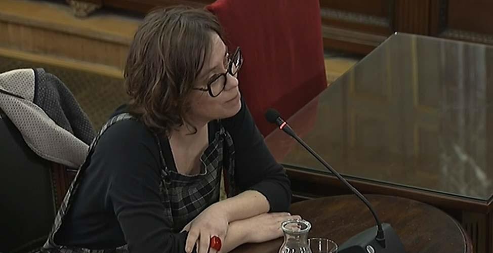 Eulalia Reguant, en el Supremo.
