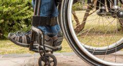 Silla de ruedas.