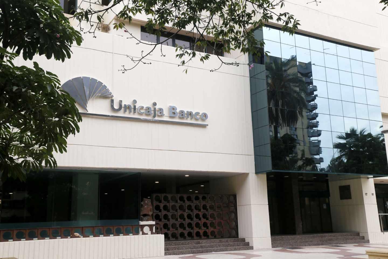 Sede de Unicaja Banco, en Málaga.