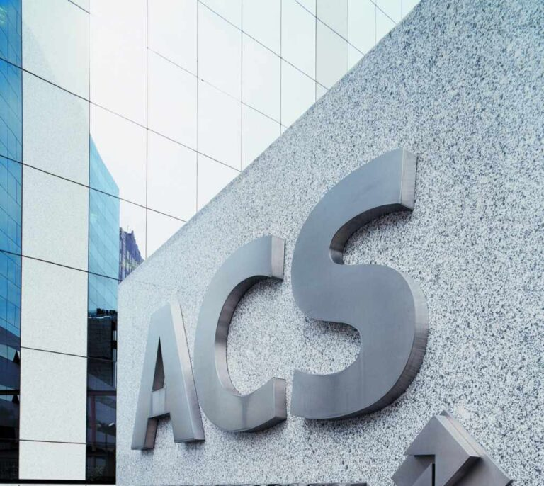 ACS obtiene un beneficio neto de 361 millones de euros en el primer semestre
