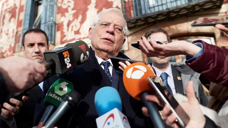 Josep Borrell, en Barcelona.