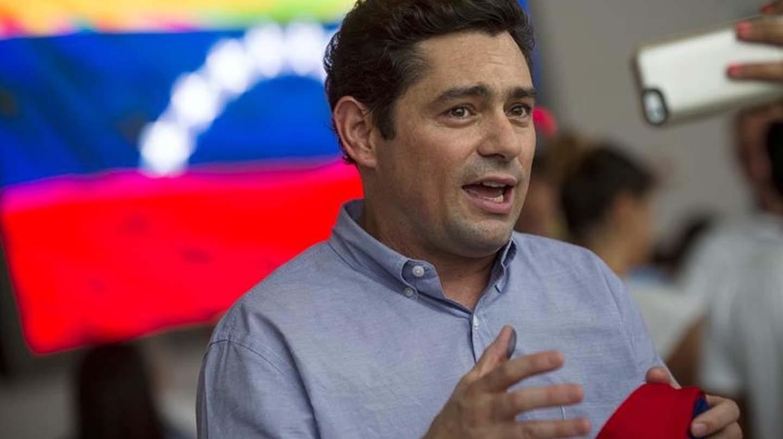 Carlos Vecchio, embajador de Venezuela en Estados Unidos.