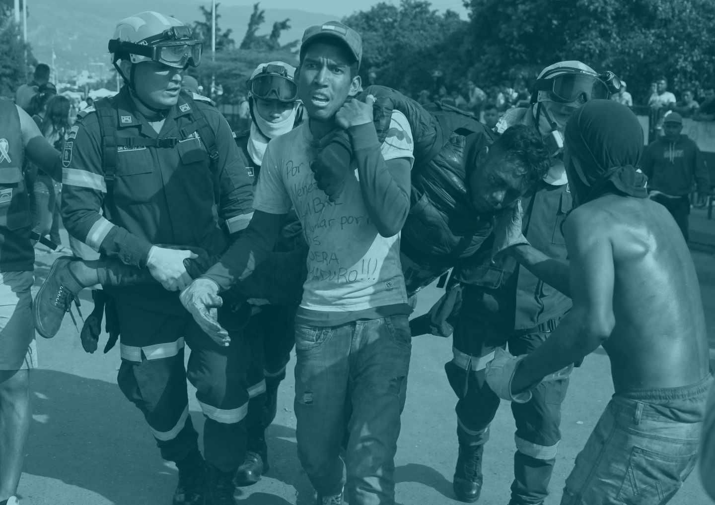 Incidentes en la frontera de Venezuela con Colombia.