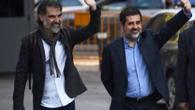 La Fiscalía pide revisar la prisión de Sànchez y Cuixart por si la sentencia del 'procés' se retrasa
