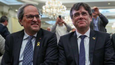 Los CDR detenidos por terrorismo hicieron de puente entre Torra y Puigdemont