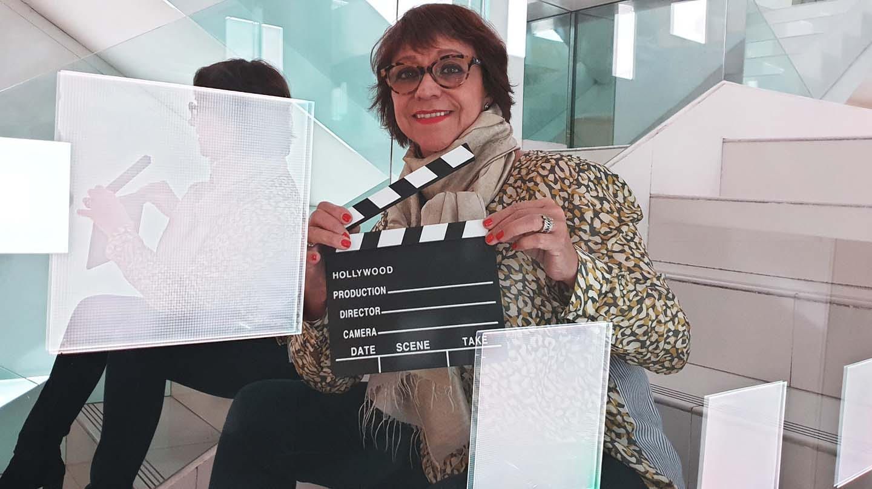 Margarita Cadenas, directora de `Mujeres en el caos venezolano'.