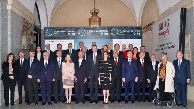 El rey Felipe VI en la clausura del 'World Law Congress (WLC)' de la 'World Jurist Association (WJA)'