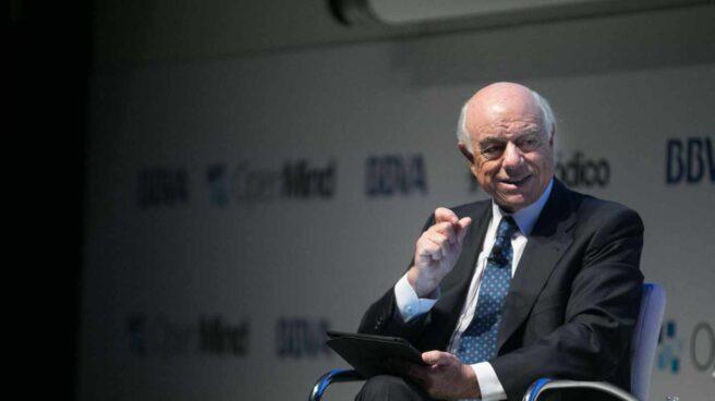 Francisco González, ex presidente ejecutivo del BBVA y hoy presidente de honor de la entidad financiera.