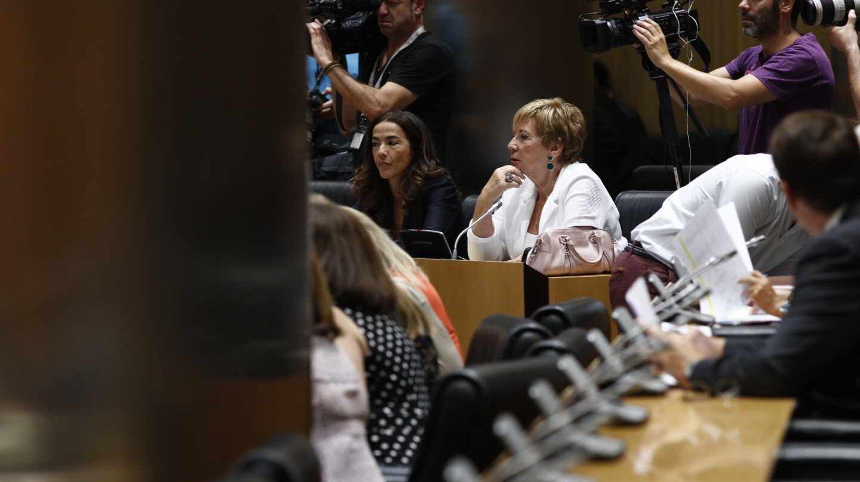 La presidenta de la Comisión del Pacto de Toledo, Celía Villalobos.