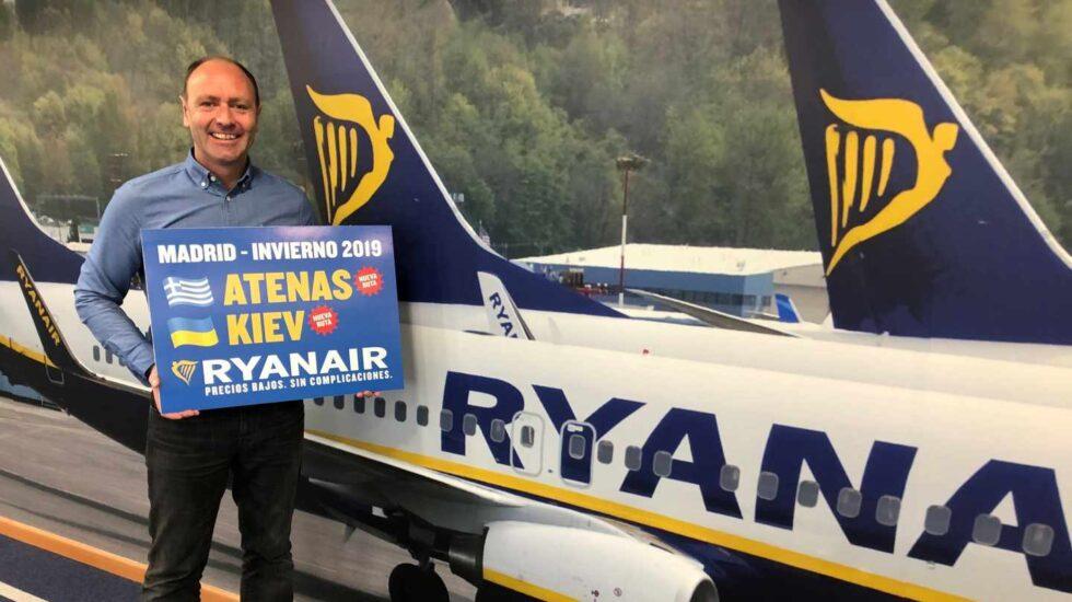 Kenny Jacobs, director de márketing de Ryanair.