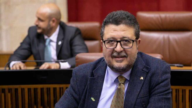 El diputado de VOX en Andalucía Francisco Serrano.