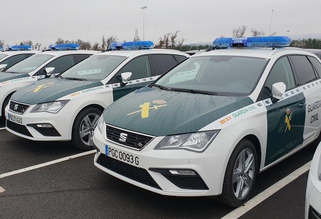 Nuevos vehículos de la Guardia Civil.