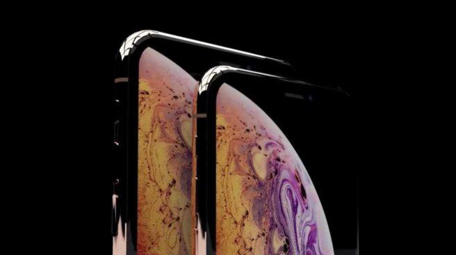 El modelo iPhone Xs de Apple.