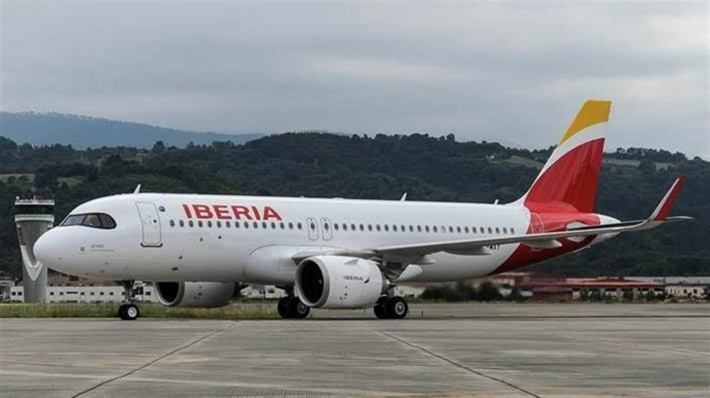 Aeronave de Iberia.