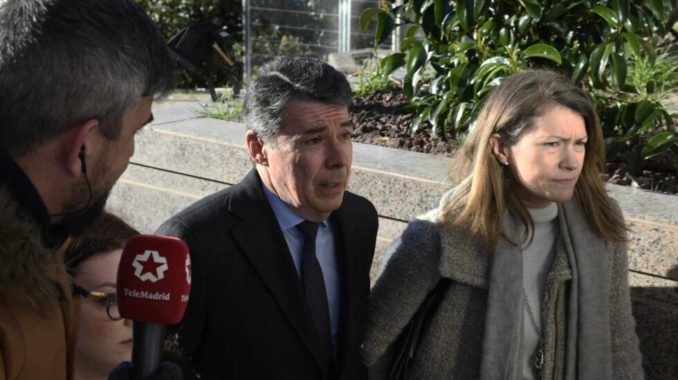 Ignacio González, a su llegada a los tribunales por el caso espías del PP.