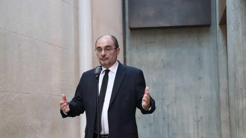 El presidente de Aragón, Javier Lambán.