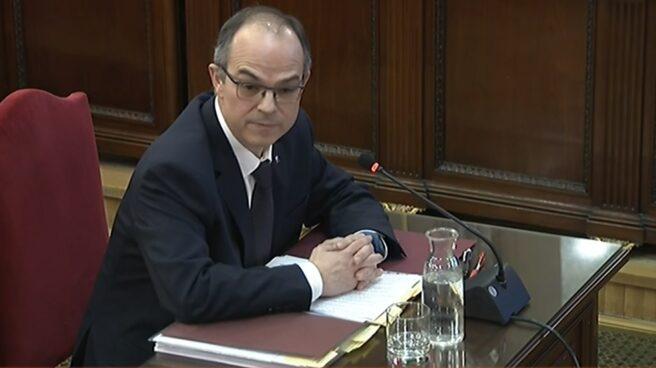 Jordi Turull, durante el juicio del 'procès'.