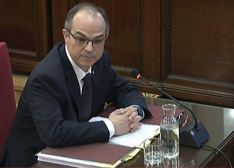 """Turull lleva la sentencia del procés a Estrasburgo y reclama a Sánchez que diga """"con quién está"""""""