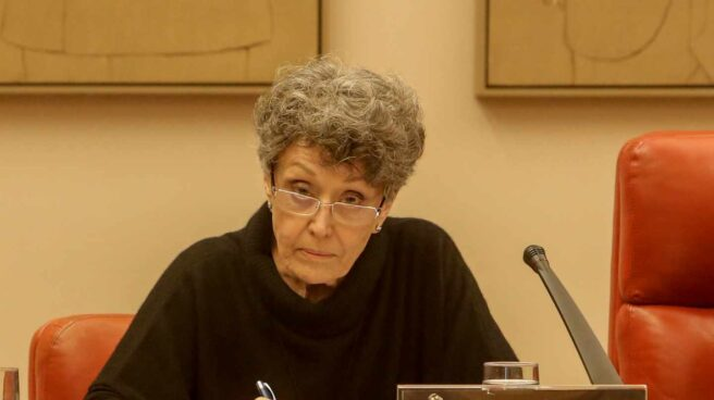 Rosa María Mateo comparece en el Congreso.